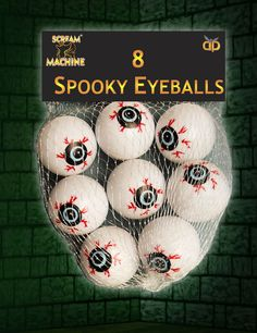 Pack Of 8  Eyeballs Halloween Party Decoration Prop  in Home, Furniture & DIY, Celebrations & Occasions, Party Supplies | eBay!