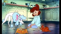 *GEORGETTE, JENNIE & OLIVER ~ Oliver and company, 1988