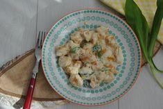Recept Guru:  Juhtúrós édesburgonya gnocchi  macihagymával
