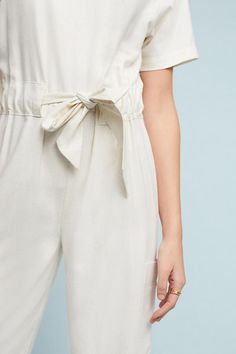 Slide View: 4: Wesley Silk Jumpsuit