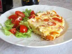 Омлет с помидорами на сковороде | Готовим рецепты