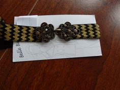 stretch belt belt elastic belt skinny belt chevron by Scarflovely
