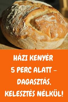 Wine Recipes, Cooking Recipes, Cooking Bread, Good Food, Yummy Food, Hungarian Recipes, Baking And Pastry, Health Eating, Special Recipes