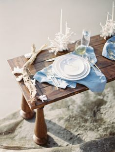 Ocean treasures: http://www.stylemepretty.com/2015/02/10/inspired-by-johnny-depps-beachfront-nuptials/