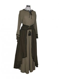 Ladies Saxon Viking Costume - Complete Costumes, Costume Hire