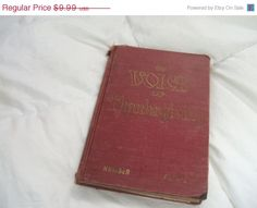 Big Sale The Voice of Thanksgiving Vintage Hymn Book by RareBooks