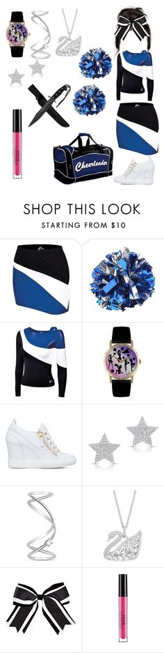 """Valentina Stark- Marvel"" by serenamarie273 ❤ liked on Polyvore featuring Chassè, Whimsical Watches, Giuseppe Zanotti, Anne Sisteron, Maison Margiela, Swarovski and Stila"