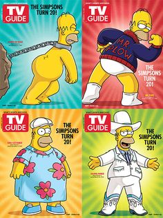The Simpsons 20th Anniversary : Inspiration by Karen Horton - design:related