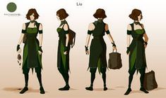 Liu -Avatar character concept design- by Marina-Shads on DeviantArt Character Concept, Character Art, Character Design, Character Sheet, Character Ideas, Character Portraits, Avatar Aang, Avatar The Last Airbender, Earth Bending