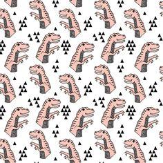 ©  Andrea Lauren //  dinosaur--pastels fabrics // andrealaurendesign.com