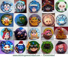 LOL Cupcake tops