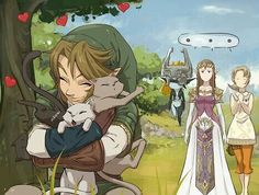 Link with cats.