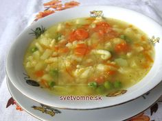 Hungarian Recipes, Russian Recipes, Low Cholesterol Diet, Cheeseburger Chowder, Great Recipes, Food And Drink, Veggies, Menu, Lunch