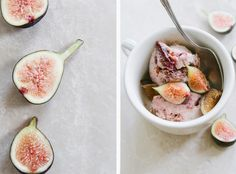 Fig and Balsamic Ice Cream from A Thought For Food