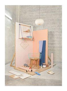 For its Spring-Summer 2016 collection, the parisian department store BHV/MARAIS has a single keyword: DIY. Design Stand, Display Design, Booth Design, Store Design, Design Design, Studio Decor, Studio Setup, Studio Interior, Retail Interior