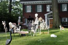 William Bezek the Artist: Halloween Decorations