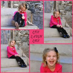 Laugh Collage - Creative Children's Photo Ideas - Kids Photos - Children's Photos