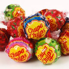 Chupa Chups - I remember having these when I'd go to Mexico as a kid 8)
