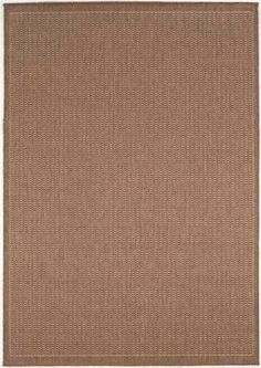 Natural/Cocoa Brown Indoor/Outdoor rug couristan floorsusa.com  $289