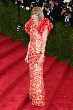 Met Gala 2015 - Anna Wintour in Chanel