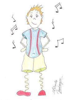 Cuento infantil: Las historias de la bruja Berrugrosa. Mis piernas mágicas en el baile de la amistad
