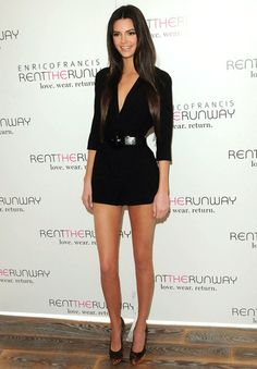 kendall jenner: hair & outfit is just perfect!