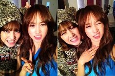 Jiyoung and Nicole - former KARA members