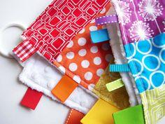 Rainbow Love-y Montessori Baby Sensory Toy by MamaMayI on Etsy