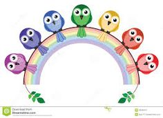 Resultado de imagem para arco iris cores