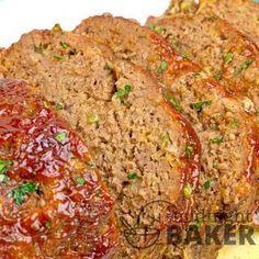 Copycat Cracker Barrel Meatloaf - The Midnight Baker