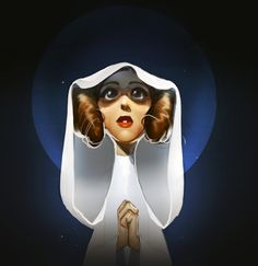 ArtStation - Princess to the stars, Dashiana ❤️‍ In memory of Carrie Fisher.