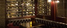 Le Cellar at Galvin Baker Street Marylebone Reclaimed Water, Drawer Lights, Condiment Holder, Walnut Doors, Walnut Dining Table, French Restaurants, Live Edge Table, Wood Panel Walls, Home Decor Store