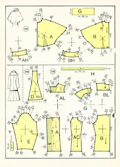 Vintage Sewing Patterns 127 winter 1972 Patternmaking