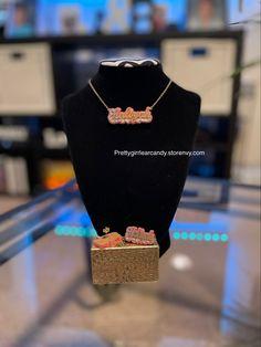 Add your custom name Custom Jewelry, Stud Earrings, Personalized Jewelry, Studs, Stud Earring
