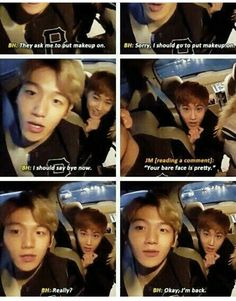 Aww he's cute the way he is >> lol u tell them baek, dont put up w/ the h8rs XP