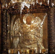 Η περίφημη μονή του Πανορμίτη και τα αμέτρητα θαύματά του - Κιβωτός της Ορθοδοξίας Kai, Archangel Michael, Guardian Angels, Orthodox Icons, Mother Mary, Miraculous, Greece, Christian, Painting