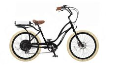 Black with Creme Balloon Package - Pedego Step-Thru Electric Bike