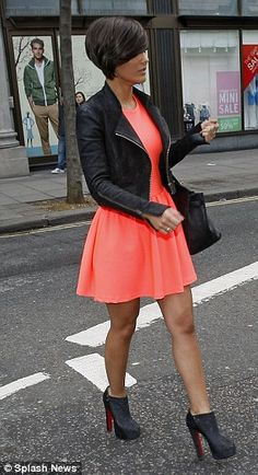 Super cute outfit!!! got a black dress like this.