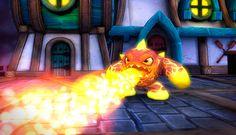 Skylanders Eruptor LightCore Character