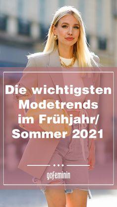 Modetrends Frühjahr/Sommer 2021: Das sind die schönsten Styles Oversize Look, Neue Trends, Movie Posters, Style, Summer Fashion Trends, Spring Summer, Styling Tips