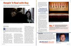 Hi all - wanted to share this article (attached) that just appeared in Ann Arbor Life Magazine about the book launch for Reel Roy Reviews. Thanks to Jennifer Hartley for her coverage, to Kelly Huddleston for her contribution, and to Dawn Kaczmar and Tony Simler for the photos.