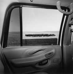 Mirror Images & Openings theme - Lee Friedlander: America by Car Credit: Lee Friedlander, courtesy Frankel Gallery, San Francisco Nebraska, 1999 The car's manufactured interior provid.