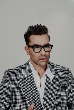 """""""Schitt's Creek"""" star Dan Levy covers the October 2019 issue of Out magazine photographed by Ryan Duffin and styled by Corey Stokes. David Meme, Eugene Levy, Out Magazine, Daniel Levy, The Emmys, Rose Family, Schitts Creek, Comedy Series, Prince Charming"""