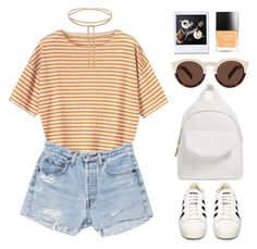 """""""N°165"""" by yellowgrapes ❤ liked on Polyvore featuring Toast, RE/DONE, adidas, Illesteva and Butter London"""