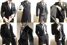 スーツ 資料 ポーズ集