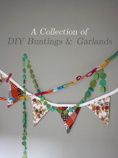 DIY party garlands