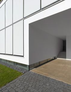 House R, exterior detail
