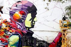 Deih New Street Art Mural