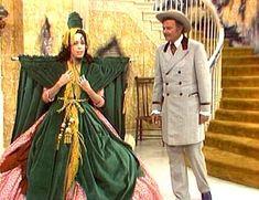 Carol Burnett as Scarlett O'Hara.  Funniest scene ever!