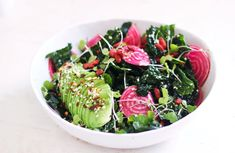 eating your superfoods is easy – with this vibrant kale + golden beet salad